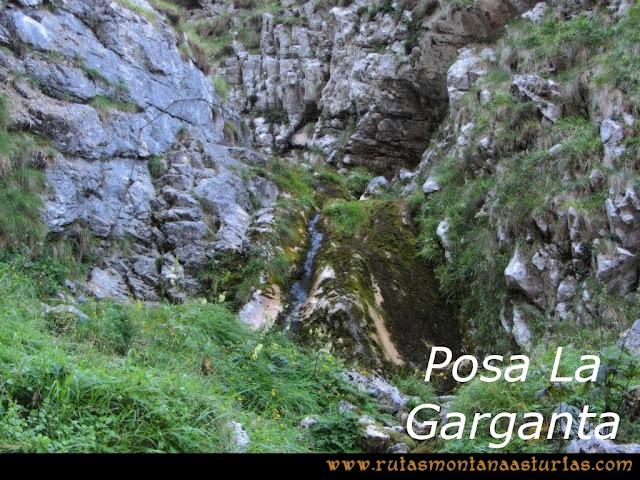 Ruta Poncebos a Cabrones por Camburero y Urriellu: Posa La Garganta