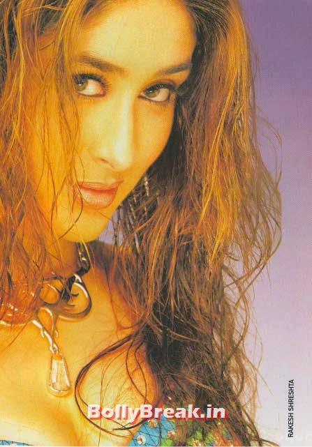 Kareena kapoor with wet hair, Hot Unseen Pics of Kareena Kapoor from Early Days of her Career
