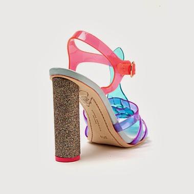 Crush SaturdaySophia Webster ~ Jelly Sandal Sasha Fierce Shoe 8mNvO0wn