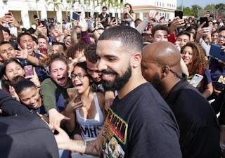 Drake Miami High School  school visit