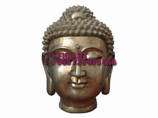 Patung Tembaga Kuningan budah hindu