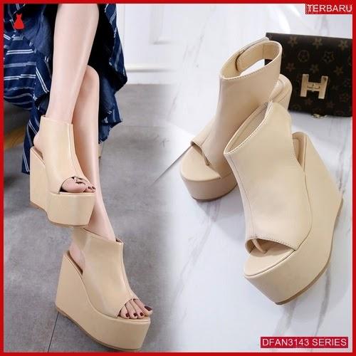 DFAN3143S88 Sepatu Dl39 Wedges 12cm Wanita Wedges Murah BMGShop