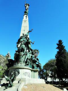 Monumento a Júlio de Castilhos, Praça da Matriz, Porto Alegre