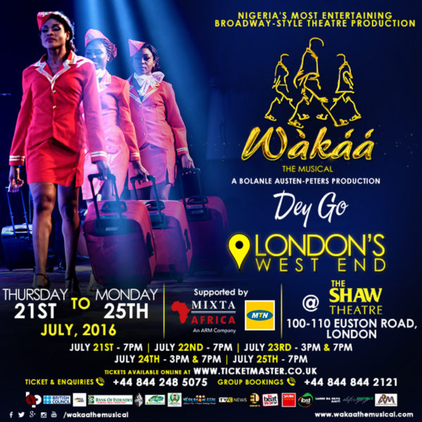 LONDON WEST END EXPERIENCES FIRST NIGERIAN MUSICAL | ART IN