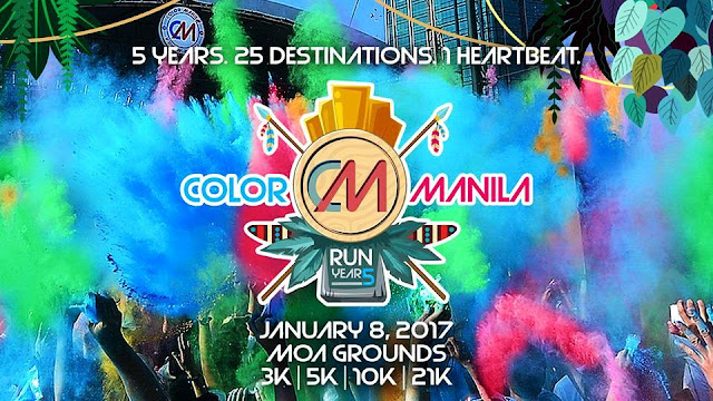 Start the year Right with COLOR MANILA Run Year 5!