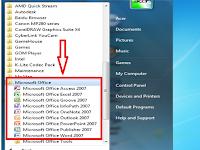 Mengetahui Fungsi  Satu Persatu dari Program Microsoft Office