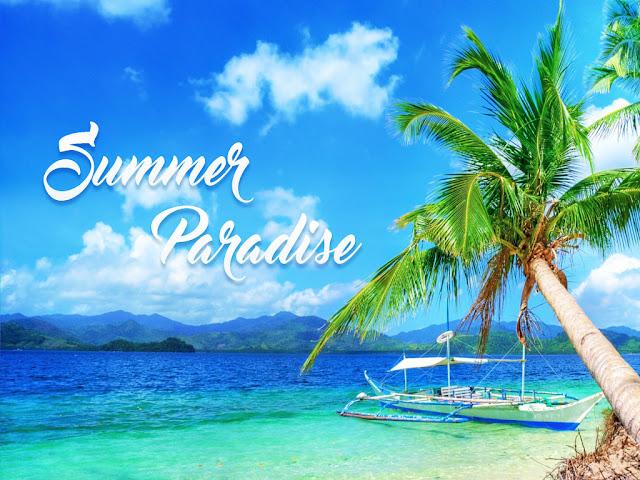 Summer Paradise Philippines Island