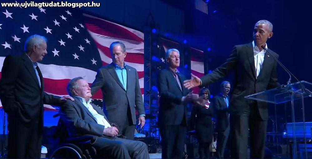A csődbe jutott USA Vállalat korábbi elnökei továbbra is pénzt koldulnak a keresztapa, Bush számára