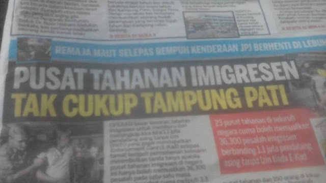 Terlalu Banyak Pekerja Ilegal, Pusat Tahanan Imigrasi Malaysia Bakal Kelebihan Muatan