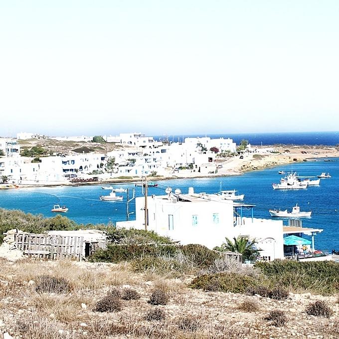 Koufonisia island Chora town photos
