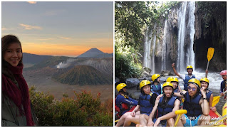 Mount Bromo Midnight, Water Rafting tour package