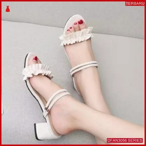 DFAN3056S28 Sepatu Sd01 Hak Tahu Wanita Sepatu Hak BMGShop