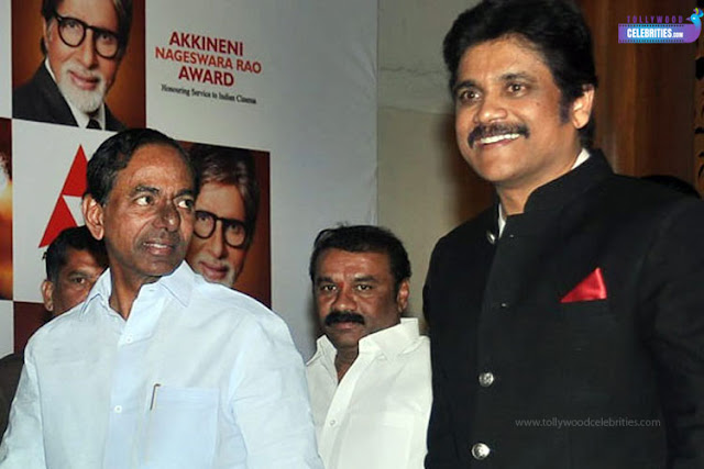 Akkineni's Invitation To CM KCR!