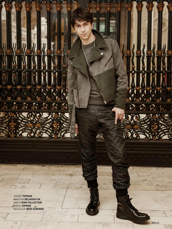 Male Fashion Trends: Nat Wolff para BELLO Magazine Mayo