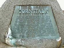 Cornstalk Monument