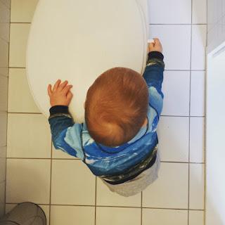 ondeugende spruit zindelijk wc