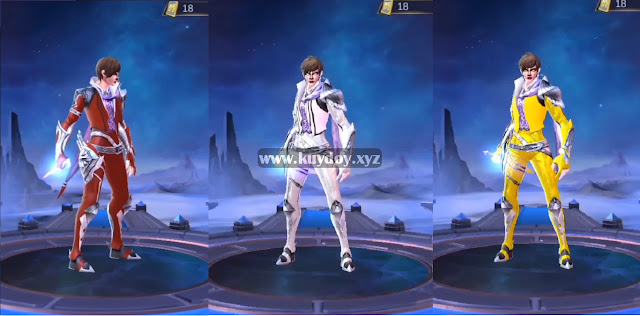 Script Skin MOD New Colour Gusion Mobile Legends