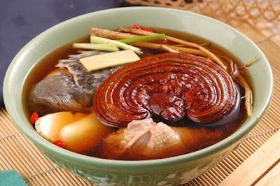 Món gà hầm nấm linh chi thơm ngon bổ dưỡng