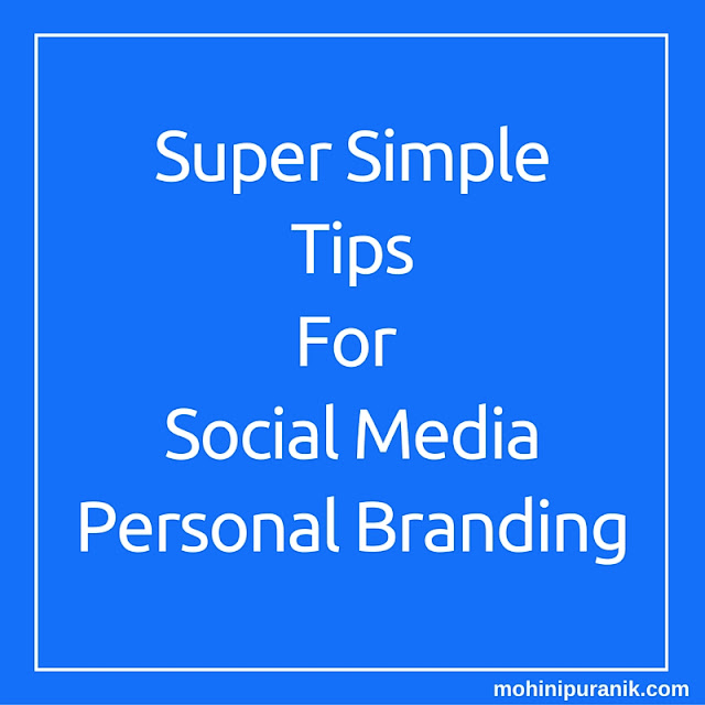 Image:23 Super Simple Tips for Social Media Personal Branding