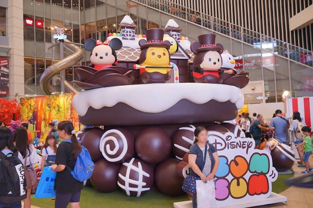 DSC04106 - 台中拍照新景點│2017迪士尼玩轉派對就在大魯閣新時代購物廣場,10/22前免費入場拍照
