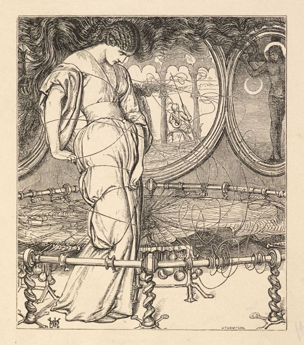 marxist critique on the lady of shalott The lady of shalott recognizes the better pleasures in life and a feminist perspective of the lady of shalott in an essay on feminist criticism, linda.