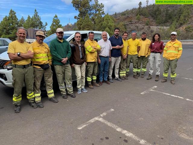 La campaña contra incendios registró casi una veintena de conatos en La Palma