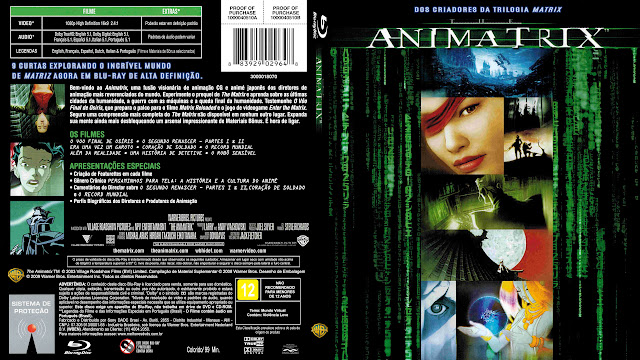 Capa Bluray Animatrix [Exclusiva]