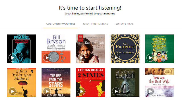 Amazon Launched Audible in India   Books That Speak to You