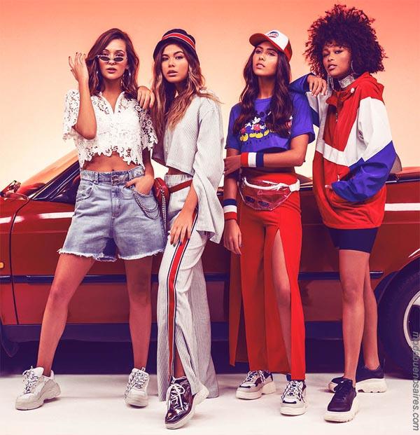 Moda primavera verano 2019 ropa de mujer.│  47 Street primavera verano 2019.