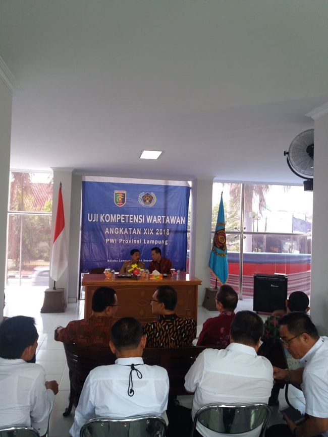 Gelar UKW PWI Lampung, Perwakilan PWI Mesuji Utus Dua Jurnalis