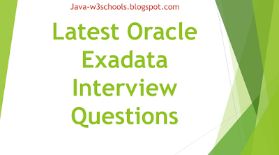 Latest Oracle Exadata Interview Questions