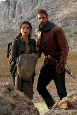 Photo of Oliver Jackson-Cohen and Adria Arjona in Emerald City Series (9)