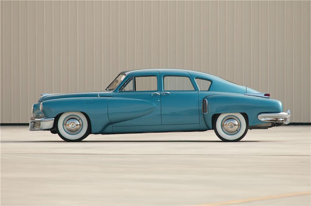 Tucker Torpedo 1940s American classic car