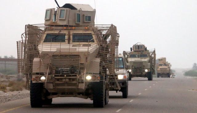 Pasukan Koalisi Arab Saudi Gempur Kubu Houthi di Yaman