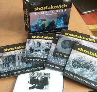 Sinfonien von Shostakovich