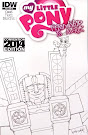 My Little Pony Friendship is Magic #19 Comic Cover Wizard World Atlanta Variant