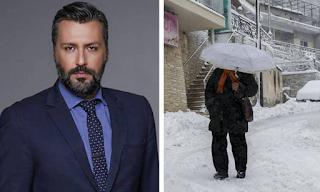Προειδοποίηση Καλλιάνου: Έρχονται χιόνια – Θα το στρώσει και στα πεδινά