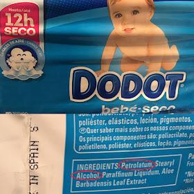 qué no debe llevar un pañal elementos tóxicos blog mimuselina dodot bebe seco