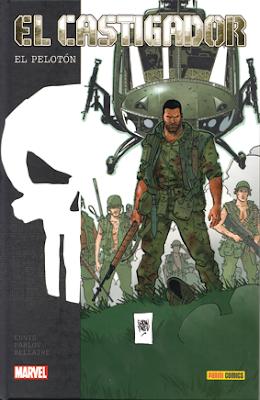 El castigador: el pelotón de Garth Ennis y Goren Parlov de Marvel, edita Panini