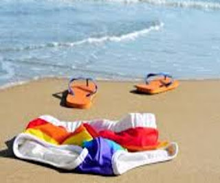 Beaches in Coastal kenya swim naked due to high temperatures.