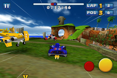 sonic-all-stars-iphone-1 Sonic & Sega All-Stars Racing, amanhã na App Store
