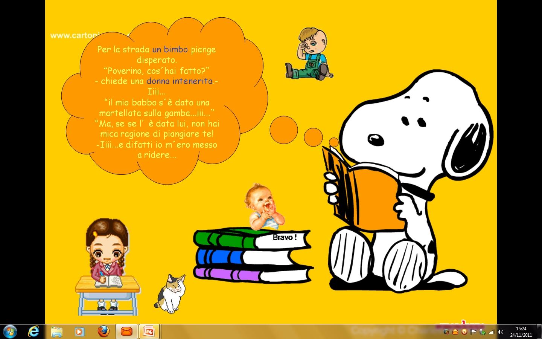 Gianna Il Bene In Noi Buon Divertimento Con Snoopy