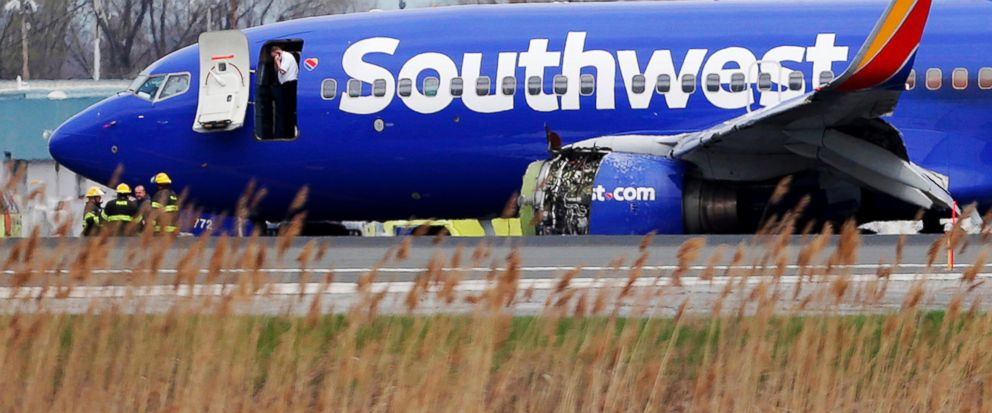 NTSB: Engine in deadly Southwest jet incident missing a fan blade