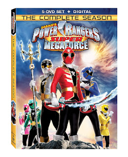 DVD Review - Power Rangers Super Megaforce: The Complete Season
