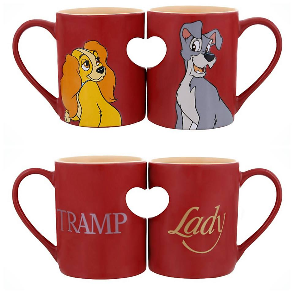 Sasaki Time Giveaway Lady And The Tramp Valentine S Day Mugs