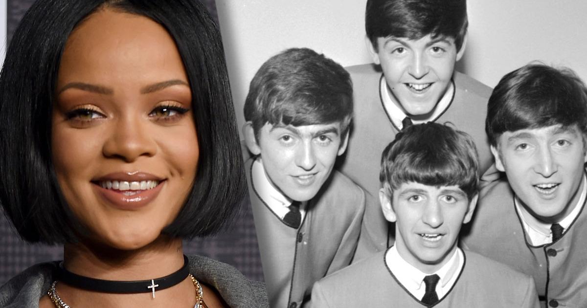 #Insolito Rihanna es mejor que The Beatles (o al menos más popular)