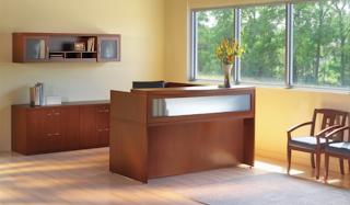Mayline Aberdeen Reception Desk