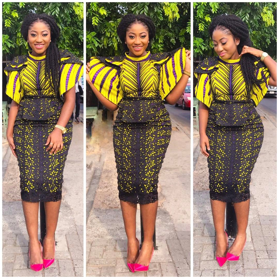 Latest Ankara Outfit For Ladies.