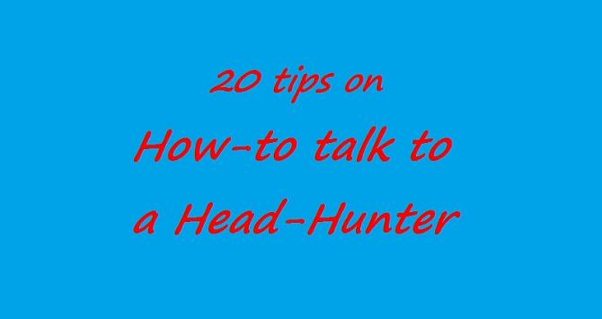 Here are 20 tips that come from my personal experience and that of my team too