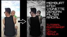 Tutorial Photoshop : Membuat Efek Vignette Dengan Filter Radial